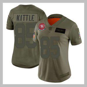 San Francisco 49ers #85 George Kittle Women Jersey
